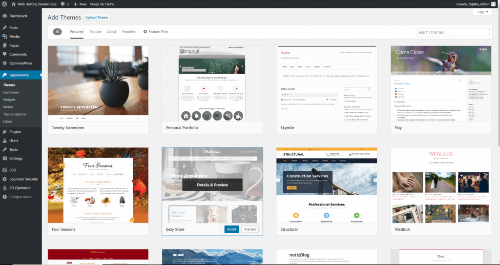 How to select a new WordPress theme for your small business website